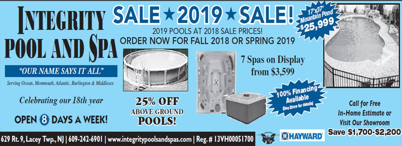 SpasSEE OUR 9 SPAS ON DISPLAY AND SAVE $1000 - $1400!