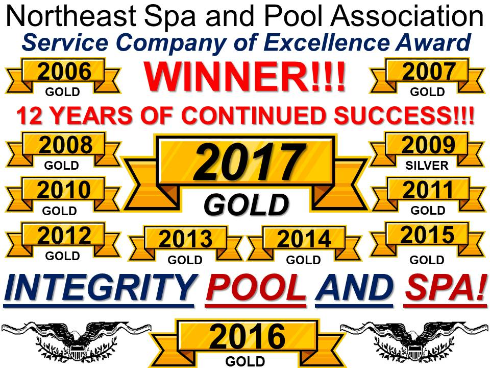 INTEGRITY POOL AND SPA  OUR NAME SAYS IT ALL!